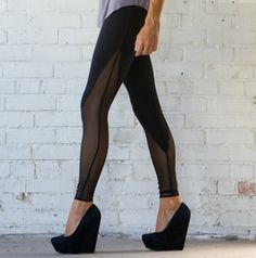 sheer and opaque tights