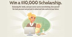 Win A $10,000 Scholarship From Scholarships4Moms