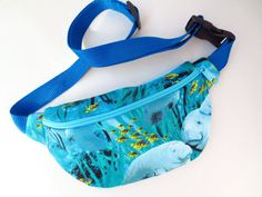Manatee Print Fanny Pack....Yes
