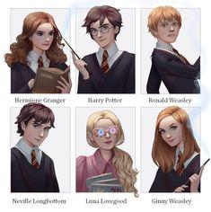 6 Fanarts | Harry Potter by RaidesArt on DeviantArt