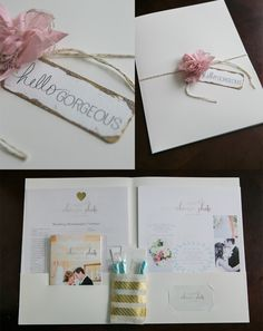 Beautiful New Wedding Packet Branding | Wedding Photographer Packaging and Marketing