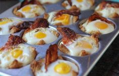 Do you let your kids help you out in the kitchen? You should – studies have shown that the more involved kids are in making their meals, the more interested and capable they become with making healthier food choices. Besides, there are easy recipes kids can do with minimal supervision, such as this bacon and egg bread muffin recipe.