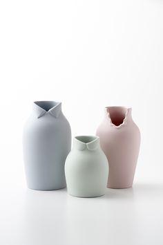 dress-up Vase by Nendo