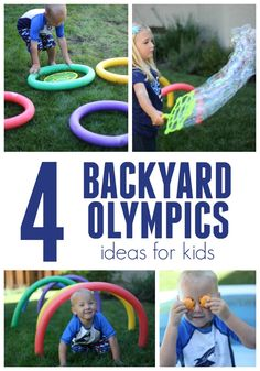 Olympic Games For Kids, Olympic Idea, Summer Activities For Kids, Kids Olympics, Summer Olympics, Outdoor Fun For Kids, Learn Hebrew, Camping Games, Ubs