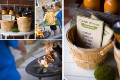camping party scavenger hunt @LeeAnn this would be great for Anthony's 5th birthday party!!!