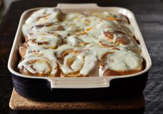 You Had me at lemon!!!  sticky lemon rolls with lemon cream cheese glaze!!
