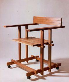 Cadeira Mito I / Mito I Chair. Design by André Marx, 1987. Mais em: www.andremarx.com.br