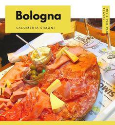 Salumeria Simoni di Bologna per un ottimo tagliere! Bolognese, Pot Roast, Bar, Ethnic Recipes, Food, Gastronomia, Italia, Carne Asada, Roast Beef