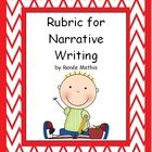This is a simple, easy to read rubric for writing a narrative based on the Ontario Curriculum Overall Expectations
