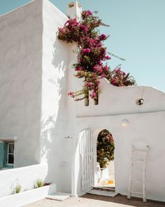 Our rental house in Paros, Greece via @finduslost