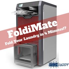 Who hates folding clothes?? You're not the only one! #CES2018 has started and this right here is the FoldiMate!  This can fold a load of your laundry in 4 min!  Kids today don't know how good they have it when Tech like this is becoming the norm.  #CES2018 #CES #FoldiMate #technology #tech #FoldingClothes #laundry
