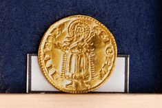 14th century gold and silver coin hoard found in West Bohemia Discovery Museum, Archaeology News, Gold And Silver Coins, Roman Emperor, Forest Animals, 14th Century, Medieval, Bohemia, Middle Ages