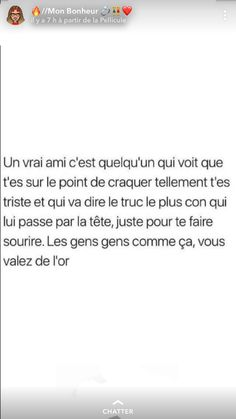 Bff Quotes, Tweet Quotes, Motivational Quotes, Snapchat Questions, Cute Texts, French Quotes, Phrases, Bad Mood, True Friends