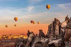 Cappadocia by BeNowMeHere from http://500px.com/photo/199539315 - |INSTAGRAM| |FACEBOOK| Unique rock shapes hot air balloons and the magic energy of sunriseThats Cappadocia Özgün kaya şekilleri balonlar ve gün doğumunun sihirli enerjisiKapadokya BeNowMeHere Cappadocia Turkey 2015. More on dokonow.com.