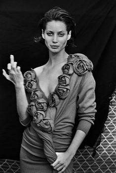 16 Iconic Peter Lindbergh Images From The British Vogue Archive - Page 2 Peter Lindbergh, Christy Turlington, High Fashion Photography, Glamour Photography, Lifestyle Photography, Editorial Photography, Art Photography, The New Yorker, Vanity Fair