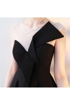 Shop Little Black Flare Homecoming Dress with Sheer Neck online. SheProm offers formal, party, casual & more style dresses to fit your special occasions. Formal Dress Patterns, Dress Sewing Patterns, Women's Fashion Dresses, Girl Fashion, Womens Fashion, Dress Brukat, Sexy Little Black Dresses, Geometric Fashion, Black Flare Dress