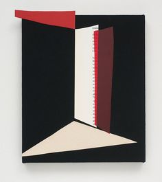 Kim Fisher, Untitled, 2011 Acrylic, Acetate and Metal on Canvas  45 x 40 inches  (114.3 x 101.6 cm)