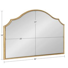 Leanna Framed Arch Wall Mirror – kateandlaurel Arch Mirror, Wall Mirror, Wedding Mirror, Mirror Shapes, Moroccan Design, Small Space Living, Beautiful Wall, Home Decor Outlet, Frame