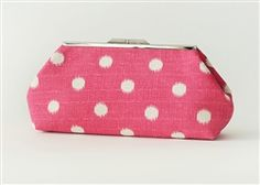 For the girl who has everything: Personalized Clutch Purse With Custom Label gift
