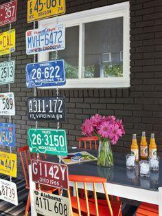 License Plates Divider