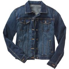 Gap Women 1969 Denim Jacket (2.335 RUB) ❤ liked on Polyvore featuring outerwear, jackets, long sleeve jean jacket, stretch denim jacket, blue denim jacket, button jacket and gap jackets