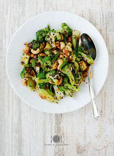 Sweet & Sour Brocolli Salad