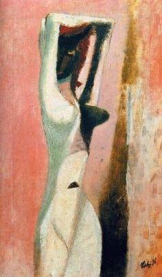 František Tichý - White black woman (1936) #painting  #art #Czechia