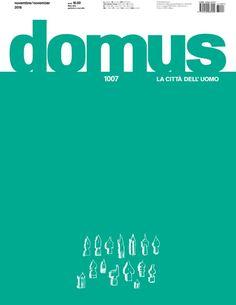 DOMUS : Archittetura, design, arte, comunicazione. Nº 1007. SUMARIO: http://www.domusweb.it/it/issues/2016/1007.html