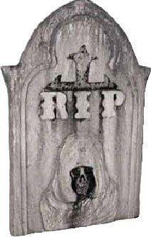 Halloween Grim Reaper RIP Tombstone Prop by BOS. $8.99