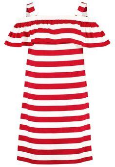 Max Mara striped red dress