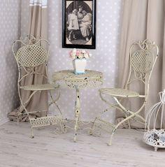 Die besten 25 cream garden furniture ideen auf pinterest palettenm bel diy gartenm bel und - Schmiedeeiserne gartenmobel ...
