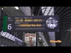 ▶ En la estación de tren. Nivel A2 - YouTube  Great for travel vocabulary and prepositions of position!