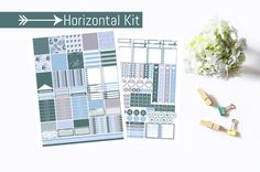 Frosty Pastels Horizontal Planner Stickers by PrintsesPlanner Life Planner, Planner Stickers, Pastels, Unique Jewelry, Handmade Gifts, Etsy, Kid Craft Gifts, Craft Gifts, Costume Jewelry