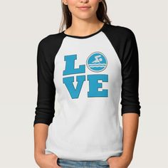 Swim Love For Competitive Swimmers or Coaches Tee T Shirt, Hoodie Sweatshirt
