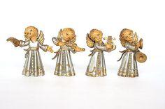 Angels  Vintage Italian Christmas Choir by HappyFortuneVintage