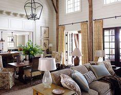 living room Kathleen Rivers House Beautiful