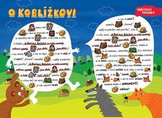 SYLVA FRANCOVÁ: Kreslené pohádky Teaching Tips, Preschool Activities, Fairy Tales, Kindergarten, Crafts For Kids, Projects To Try, Education, Reading, Children