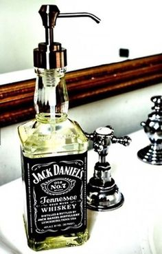 Hard Liquor Soap Dispenser
