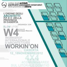 Workin'on 4 - Workshop internazionale di architettura sul litorale domitio, di Valentina Pepe