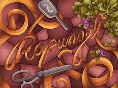 disney-tipografia-rapunzel