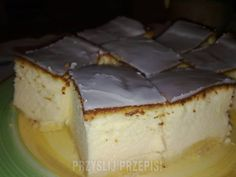 sernik puszysty Polish Recipes, Polish Food, Ale, Cheesecake, Food And Drink, Pudding, Easter, Baking, House