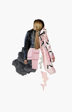 20 Amazingly Creative Fashion Collages Collage series based on her favorite fashion collections for Spring/Summer Fashion Illustration Collage, Illustration Mode, Fashion Collage, Fashion Illustrations, New Fashion, Trendy Fashion, Fashion Art, Fashion Models, Fashion Design