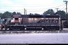 RailPictures.Net Photo: GM&O603 Paducah & Louisville Railroad EMD GP35 at Paducah, Kentucky by Alan Mayes(www.HamiltonRailroad.com)