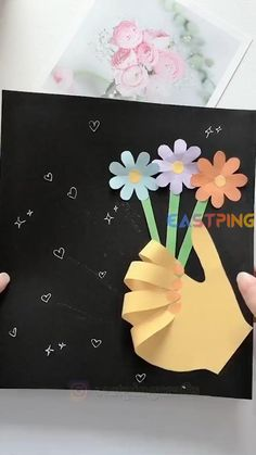 🌟 Follow to be inspired 🎨 More DIY creative crafts Let's do together! Try to do it with the video and let me know in the comment how it goes 💗Find more other tutorial and ideal in my blog. If you like it please 👍Like and 📱share📲 or 🖋comment Fun Crafts For Kids, Creative Crafts, Easy Crafts, Art For Kids, Handmade Crafts, Classroom Crafts, Preschool Crafts, Paper Crafts Origami, Easy Origami