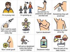 PECS Social Story: using deodorant