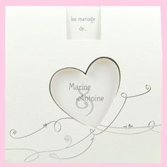 Faire-part mariage réf.J3016