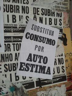 Cartaz rua augusta