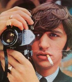 Ringo Starr --- I've never been a huge Beatles fan, but I have always found him attractive.