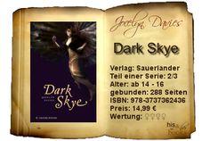 """Mit """"Dark Skye"""" konnte die Autorin ihre Idee auf fantastische Weise fortsetzen. Die Vorhersehbarkeit der ersten Hälfte wurde durch die genialen Überraschungsmomente der zweiten größtenteils aufgewogen. Das emotionale Hin und Her tritt in den Schatten der charakterlichen Entwicklungen.  Ein Must-Read für Fans von """"Silver Skye"""". Wem das Liebesdrama/-dreieck zu viel war, dem kann ich Mut zusprechen: Es hat nicht mehr oberste Priorität und alles entwickelt sich so ganz anders…"""