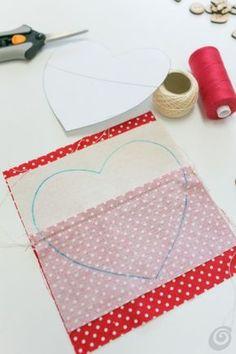 Il cuoricino di stoffa fai da te – Casa e Trend